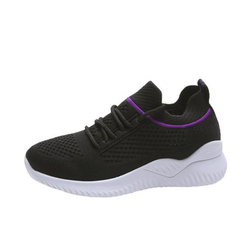2021 Spring New Women's Running Shoes Fashion Women's Casual Sneakers All-match Breathable Fly Woven Mesh Women's Shoes