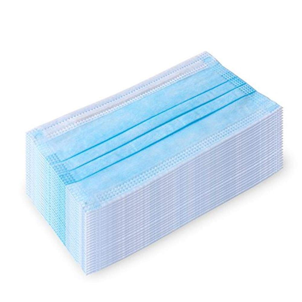 20/50PCS Disposable Mouth Masks 3 Layer Earloop Non Woven Face Masks Dust Protection