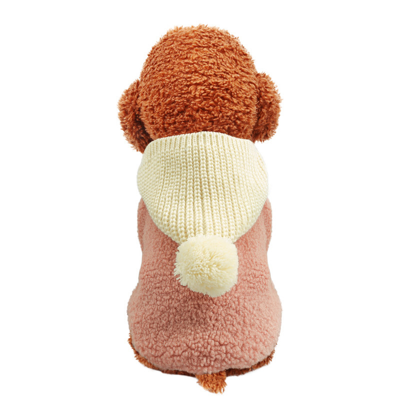 Winter Dog Clothes Puppy Hoodies for Small Medium Dogs French Bulldog Chihuahua Coat Warm Jacket Dog Clothes Honden Kleding