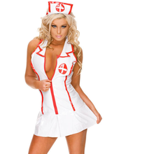 Costume Outfits-Suit Cosplay-Uniform Doctor Sexy Women Nurse All One-Size Lingerie Role-Play