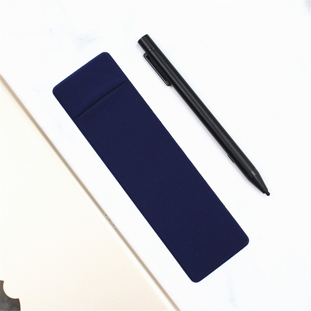 1pc 152*44mm For Samsung Galaxy Tab S Pen Case Adhesive Pouch Protective Tablet Pencil Holder Stylus Pen Protective Sleeve