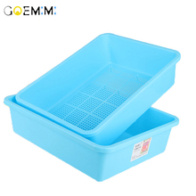 Bedpan Cats-Litter-Box Pet-Toilet Toilet-Training-Kit Kitten Dog-Tray Anti-Splash Plastic