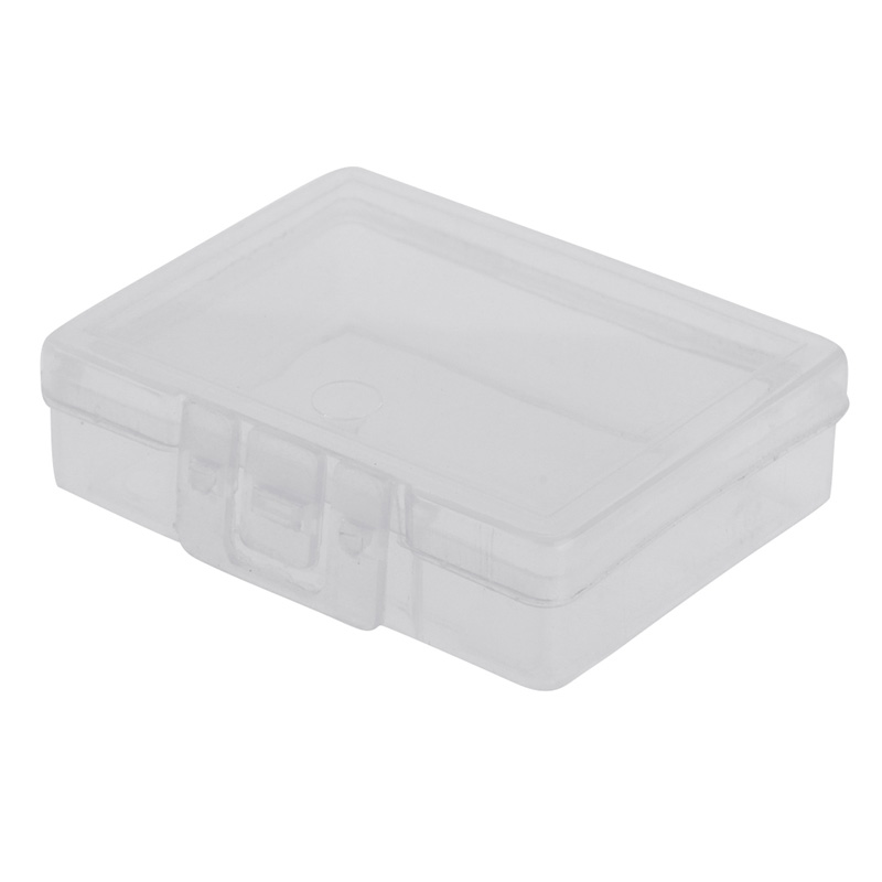 Transparent Fishing Lure Tackle Hook Bait Plastic Storage Box Container Case New title=