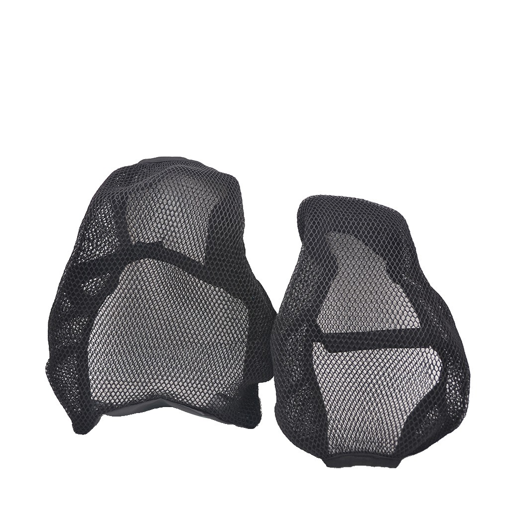 Seat-Cover Motorcycle Bike-Net 3d Mesh Black Electric Breathable -Bl30 Anti-Slip title=