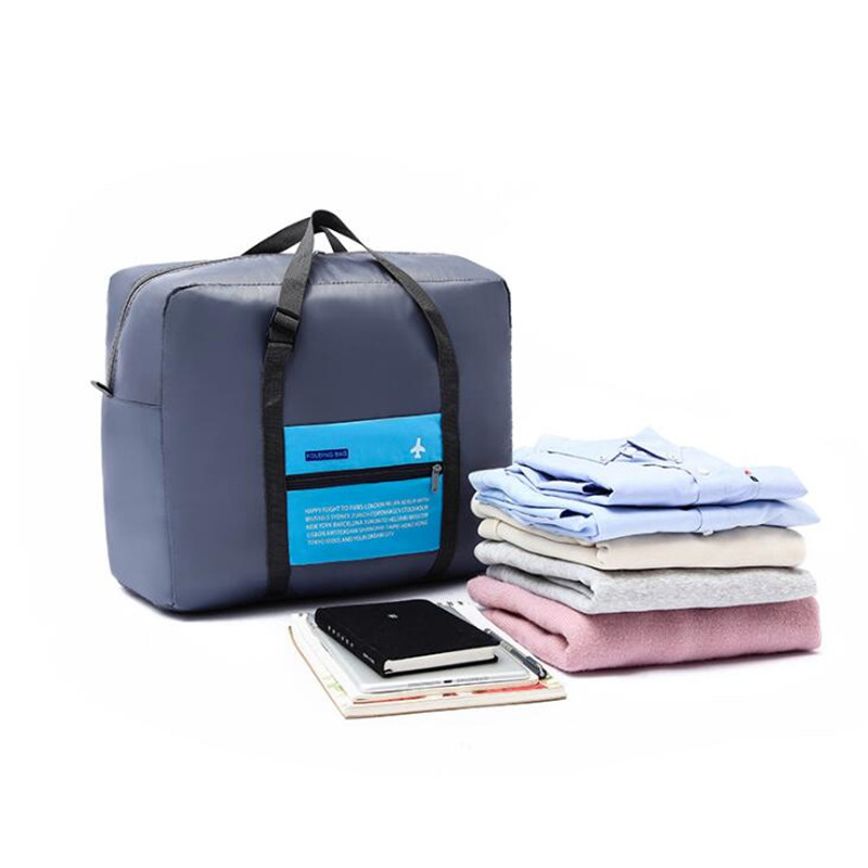 High Capacity Travel Bag For Women Folding Duffle Weekend Bag Aircraft Organizer Bag Travel Accessories Packing Cubes