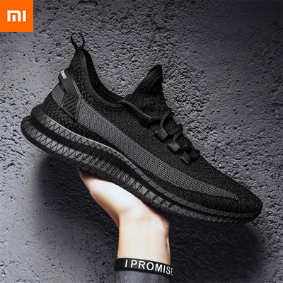 Xiaomi Shoes Sneakers Trend Exercise Woven Fitness Running Men's Youpin Flying Casual title=