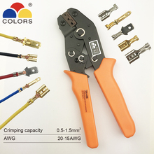 8-Jaw-Kit Package Electrical-Clamp-Tools Crimping-Pliers SN-48BS VH2.54 for 2510/tube/Insuated-terminals