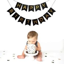 Много тем с днем рождения баннер детский душ День Рождения украшения фото будка с днем рождения гирлянды из флажков