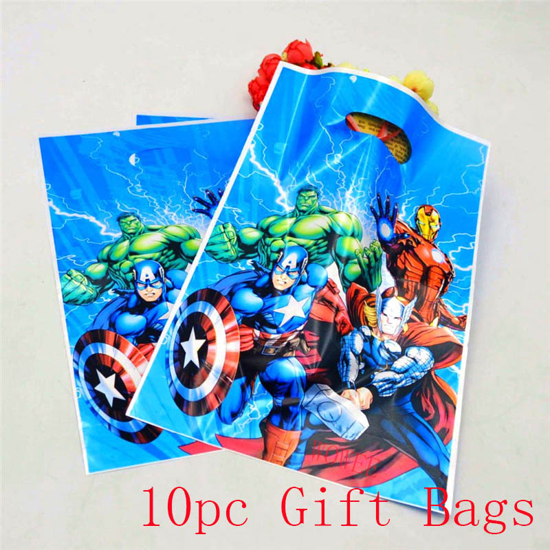 10pcs-set-The-Avengers-Theme-Gifts-Bags-Happy-Birthday-Party-Decoration-Boys-Loot-Candy-Shopping-Bag