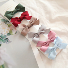 New Women Headwear Bow Hairpins Hair-Accessories Hairgripsj128 Colorful Girls Korea Lovely