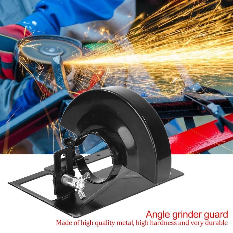 soporte de stent dedicado de bricolaje para escudo de seguridad para trabajar la madera herramienta de soporte de conversi/ón de m/áquina de corte engrosada Base de equilibrio de amoladora angular