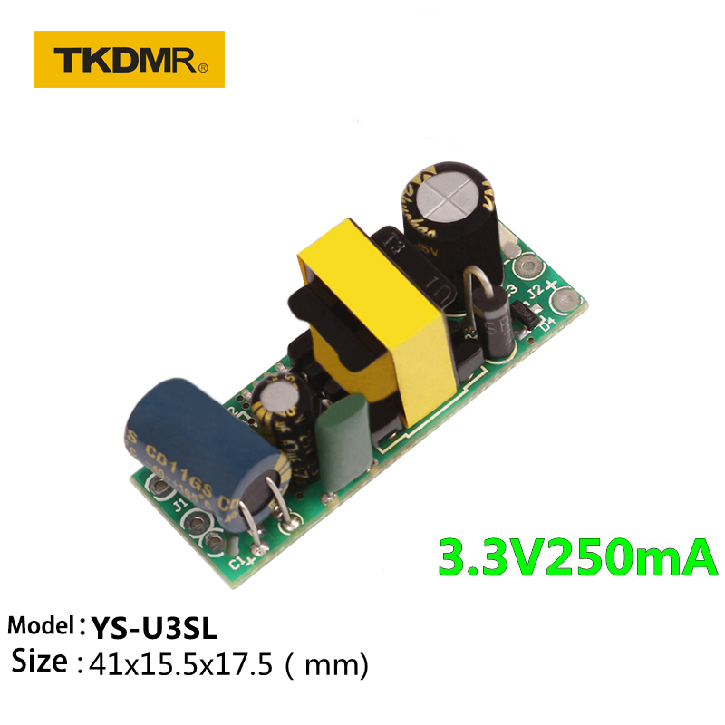 220V to 3.3V1A 1000mA 3.5W AC-DC Switch Supply Converter Step Down Module US