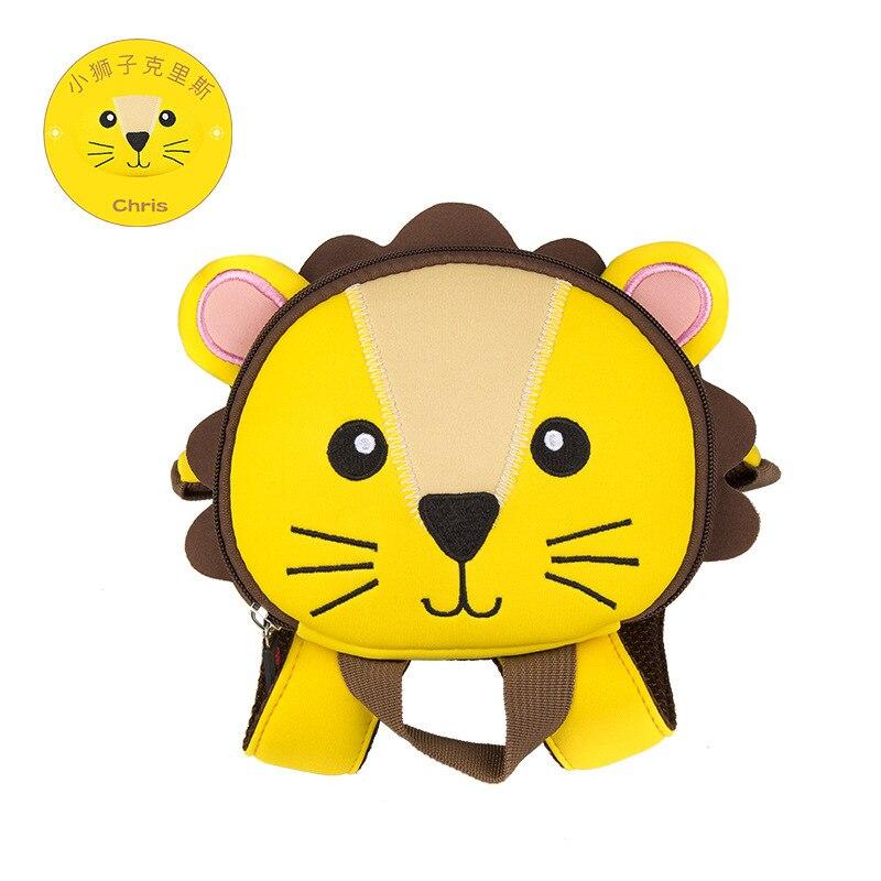 Toddler Baby Backpack Animal Kids Baby Bags Waterproof Kindergarten 3D Cow School Bags For Girls Cute Cartoon School Bags