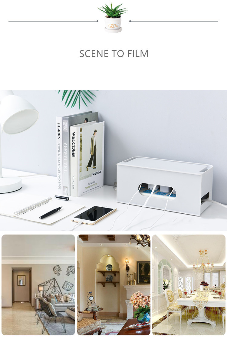 Double Layers Drawer Type WIFI Router Storage Box 70