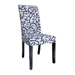 Airldianer цветочный принт съемный чехол на стул большой эластичный чехол современный чехол для сидений на кухне чехлы на кресла стрейч для банк...