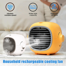 Cooling-Fan Home Small USB Desktop for Summer J8 Air-Cooler Rechargeable