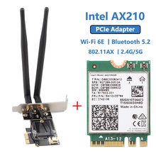 Настольный Wi-Fi адаптер 6 Intel AX210 PCIe product image