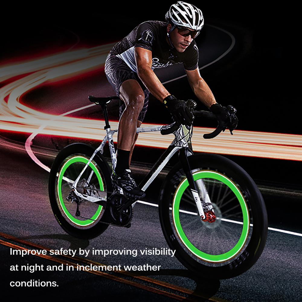Neumaticos Bicicleta 14 Luces Led De Bicicletas Accesorios Para Bicicletas Led