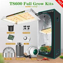 Mars Hydro TS 600W LED Grow Kits Light and Tent Carbon Filter Sunlike Full Spectrum Indoor