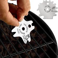 Scraper Scrubber-Tool Cleaner Grill-Cleaning Grate Metal Portable