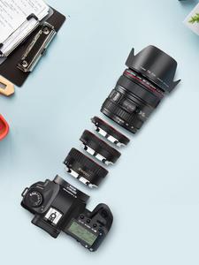 SHOOT Tube-Ring Camera-Accessory Macro-Extension EF-S Auto-Focus EOS 500d Canon 600d
