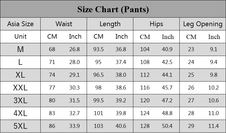 japanese guide pant