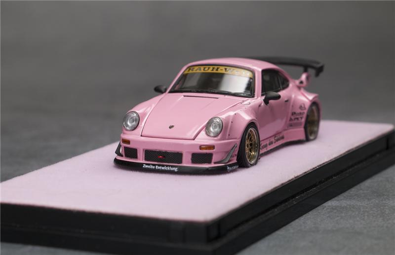 PGM 1:64 Porsche 930 RWB black Ordinary//Luxury Model Car