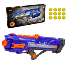 Gun-Toy Ball Gun Bullets-Gun Apollo-Ball Electric Soft Kids Nerf Rivals Submachine-Gun