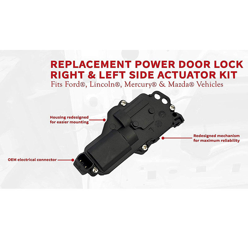 F350 Expedition Replaces 6L3Z25218A43AA F450 Right and Left Side Mustang 6L3Z25218A42AA Driver and Passenger Excursion for Ford F150 F250 746-148 Power Door Lock Actuator