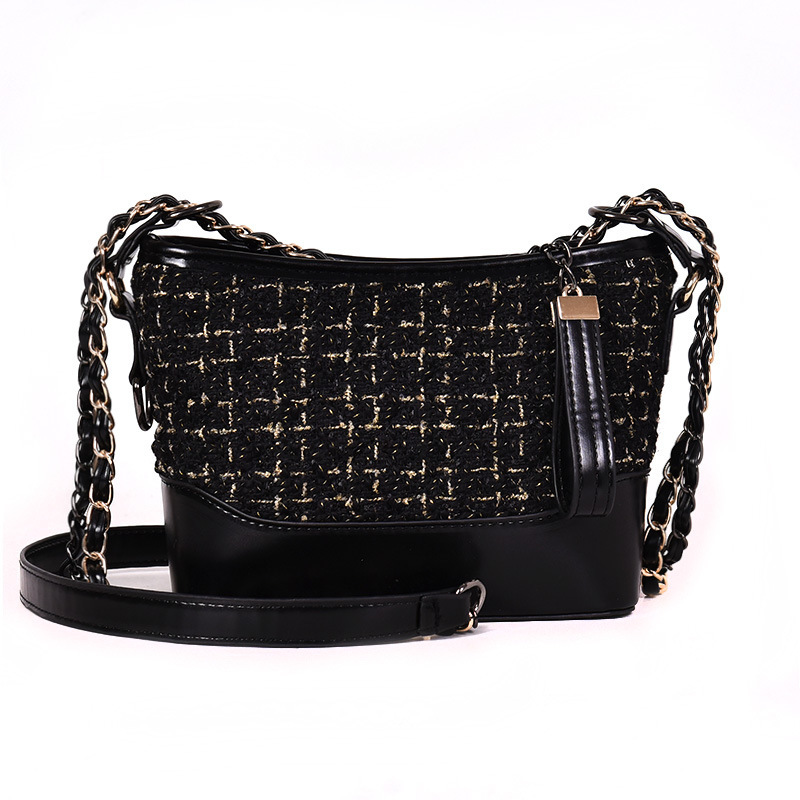 Woolen 2019 Ladies Sling Crossbody Bags Women Luxury Handbags Famous Brand Designer Chain Female Messenger Shoulder Bag Sac Main