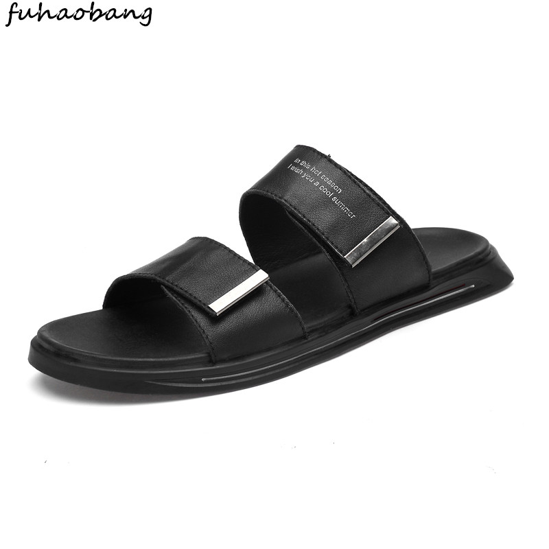 Shoes Mens Slippers Outdoor Summer Shoes breathable Flip Flops Water Trekking Sandals Zapatos Hombre Slides Men Beach Sandals