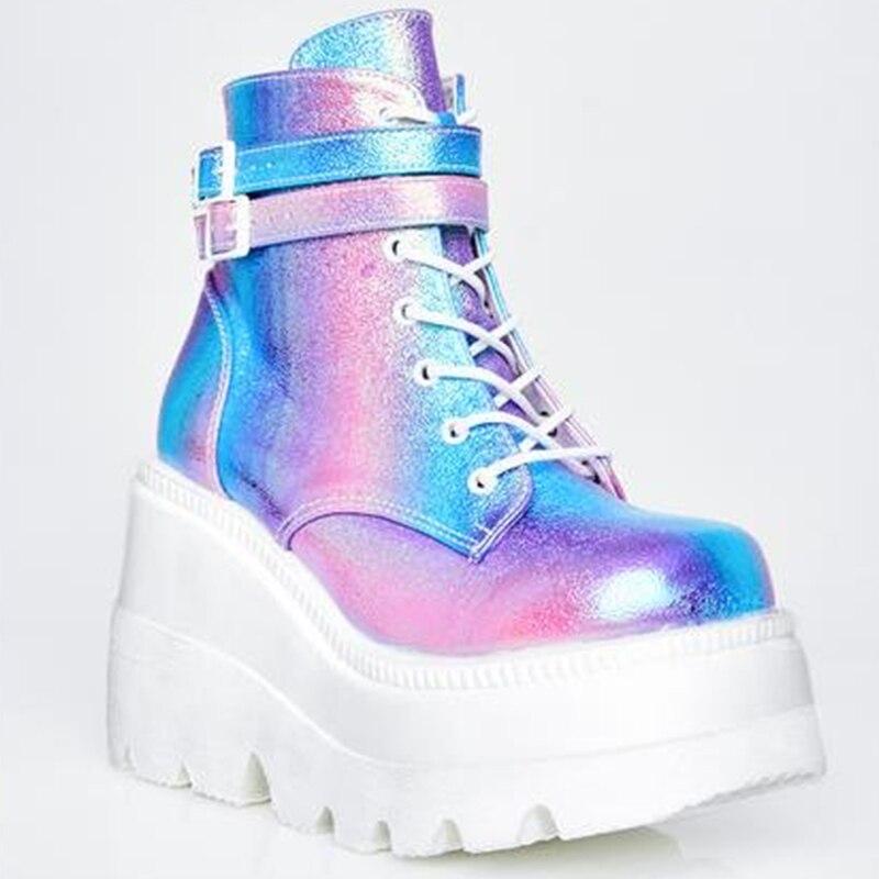 New INS Hot Women High Heels Ankle Boots Women