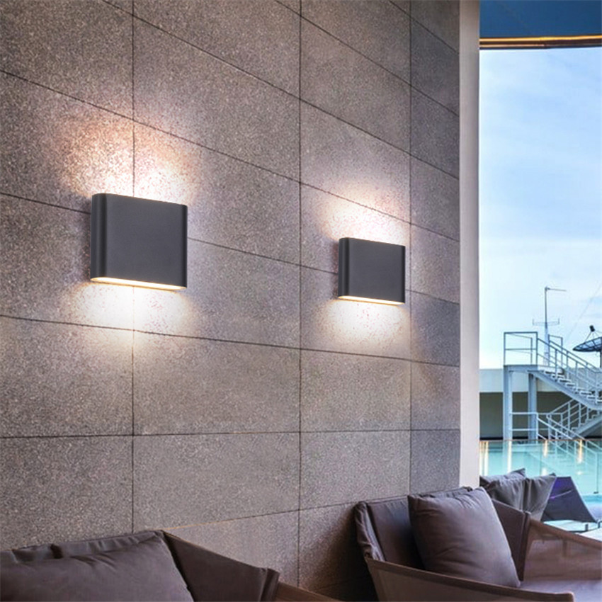 LED Indoor Lighting Wall Lamp Modern Home Lighting Decoration Sconce Aluminum Lamp AC85-265V For Bath Corridor NR-126