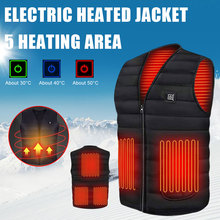 Warm Vest Electric Outdoor Winter Women's USB Autumn Washable