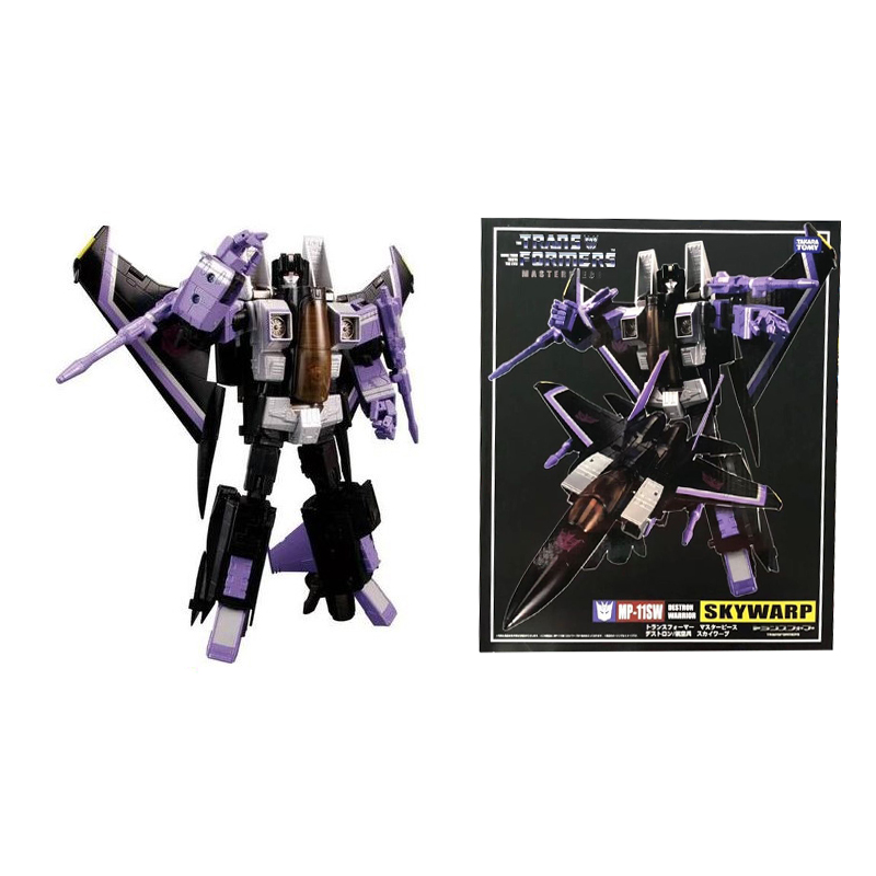 Transformers MP11SW MP-11SW Skywarp G1 action chart