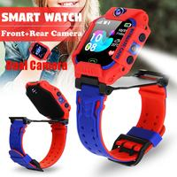 Dual Camera Anti Lost Location Baby Smart Watch Kids SOS SIM GMS Phone Children LBS Positioning Tracker Watches LifeWaterproof