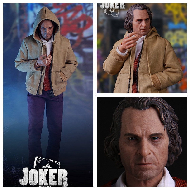 MTOYS 1//6 MS009 The Joker Joaquin Phoenix Casual Clothes Collectible Figure Toys