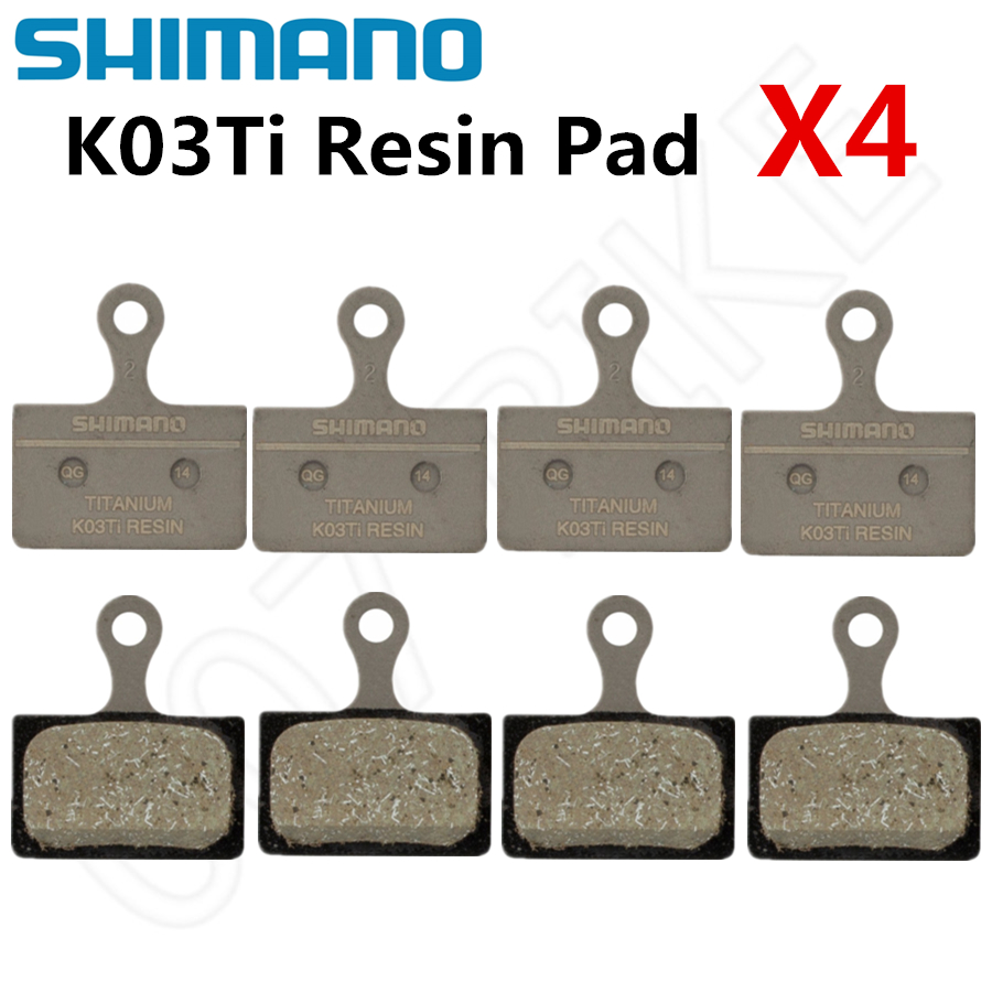 SHIMANO XTR Disc Brake Pads K03Ti Resin FIN Pad Set fit BR-M9100//R9170//R8070...
