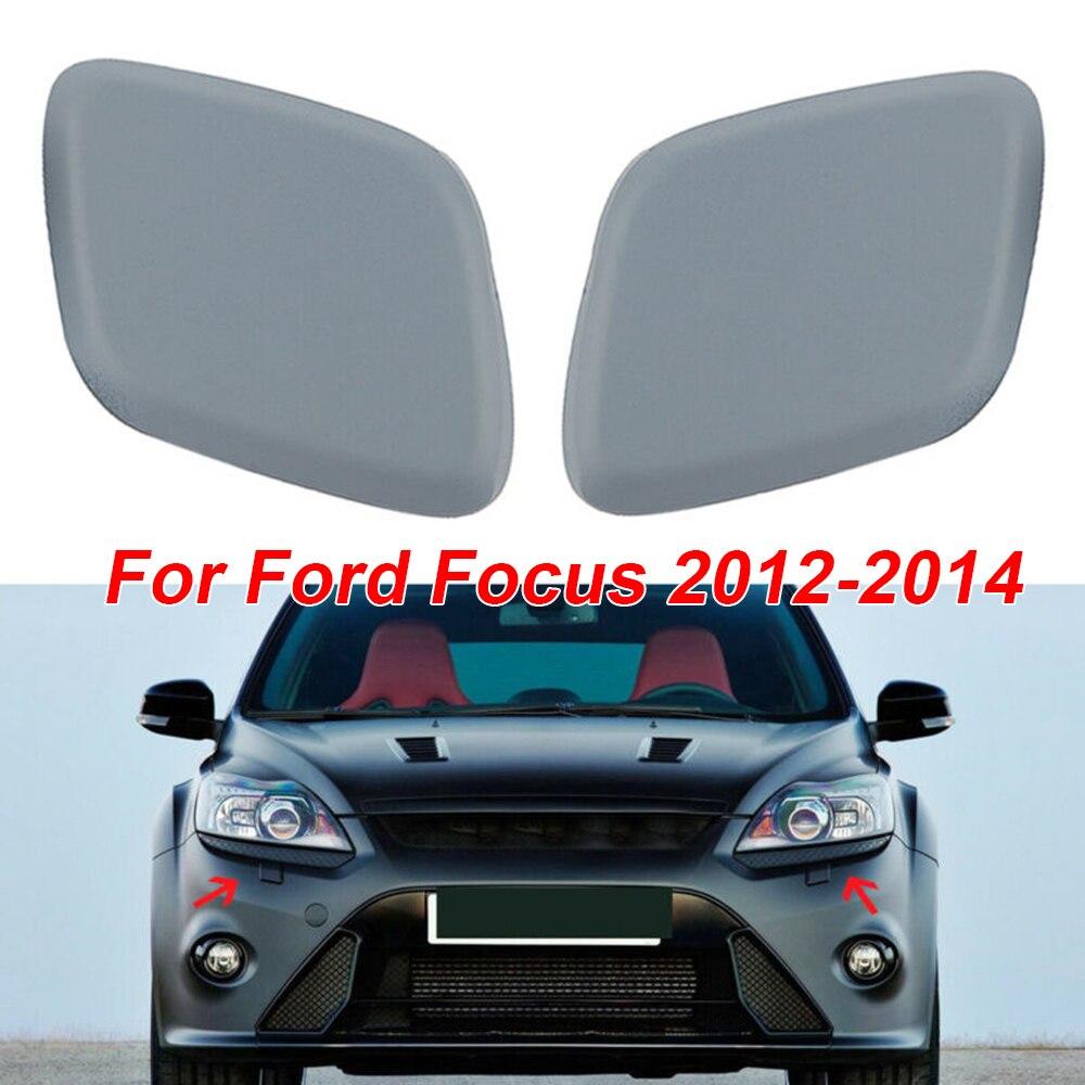 HEIZIJIA Couvre-p/édales de Voiture en Acier Inoxydable , pour Ford Focus 2 3 4 MK2 MK3 MK4 Kuga Escape RS St 2005 2017