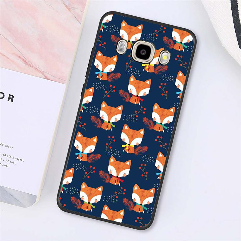 Animal fox in the wild Autumn