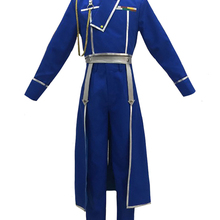 Apron Fullmetal Alchemist Roy Mustang Cosplay Anime Pants Tops Army-Uniform Halloween