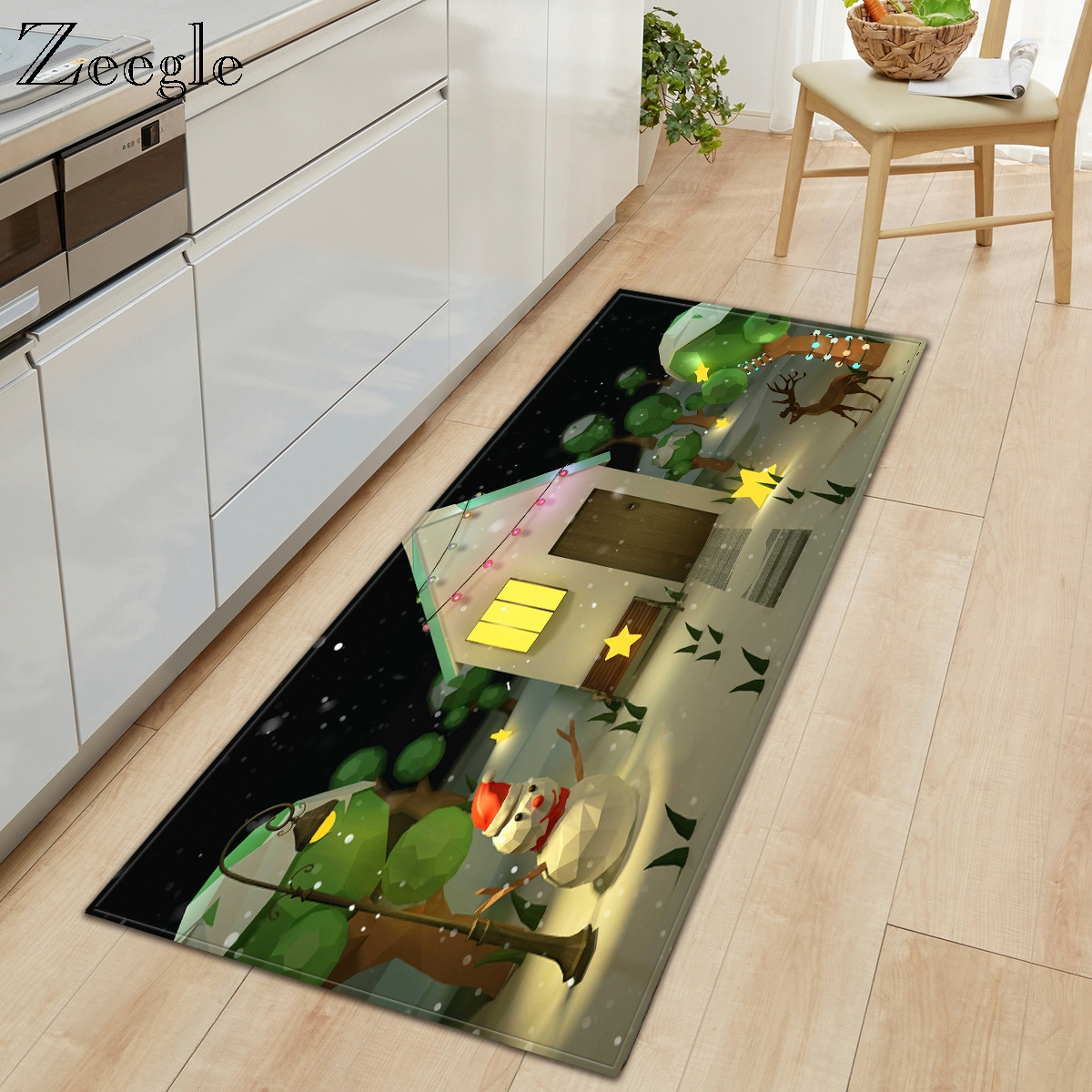 Cartoon Carpet Anti-slip Kitchen Carpet Bathroom Doormat Shower Floor Mat Bedside Rug Mat Rugs and Carpets for Home Living Room