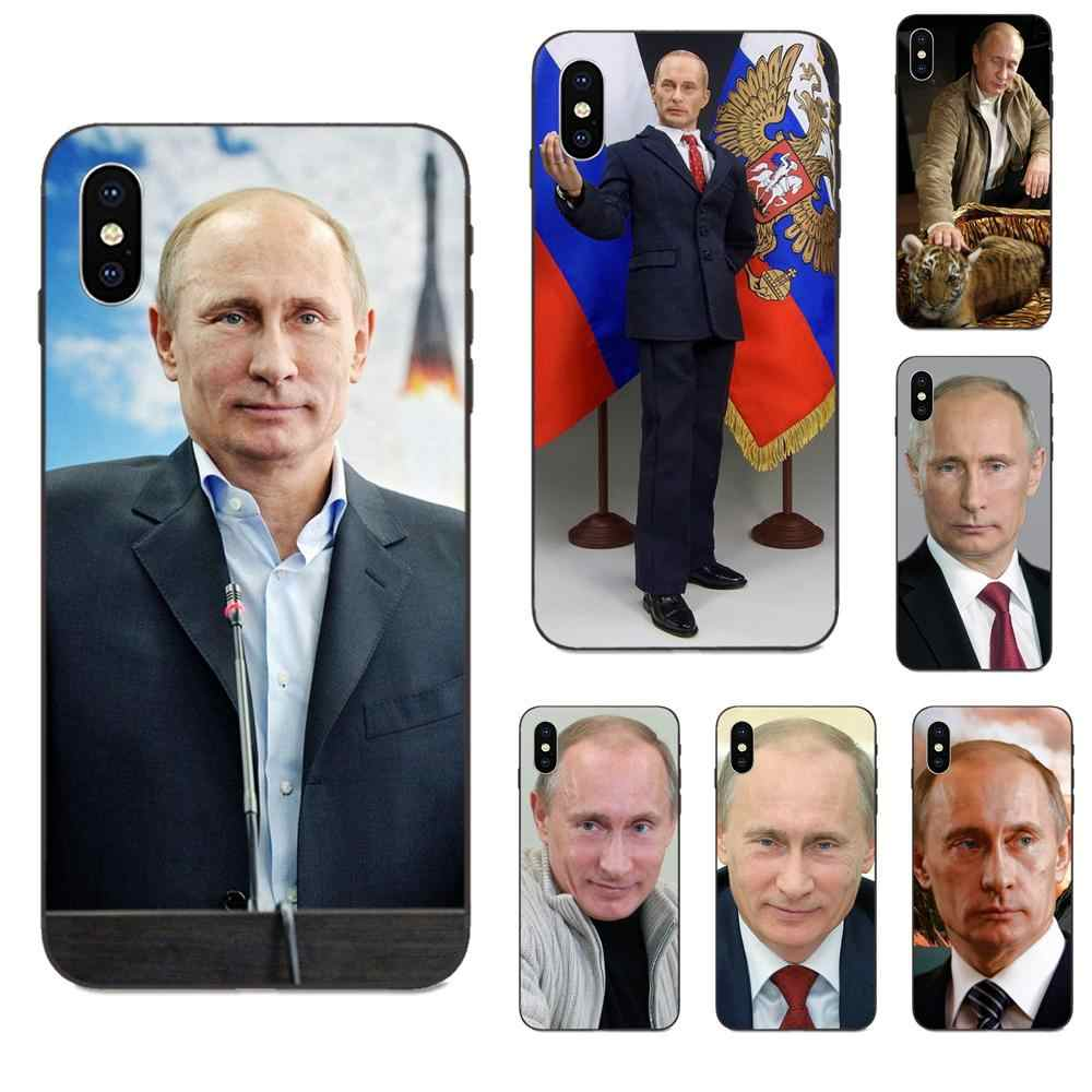 Russia Vladimir Vladimirovich Putin For Apple Iphone X Xs Max Xr 4 4s 5 5s Se 6 6s 7 8 Plus Coque Shell Phone Case Half Wrapped Cases Aliexpress