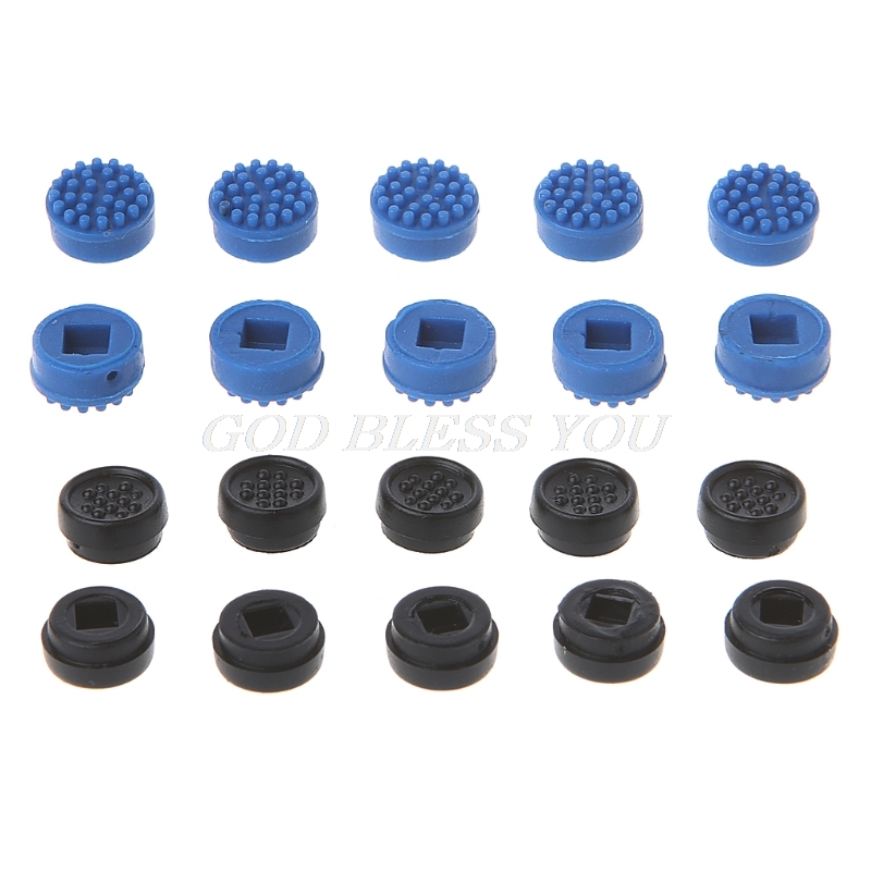 10 Pcs Blue Mouse Pointer Trackpoint Cap 3.0mm x 3.0mm for Dell Laptops