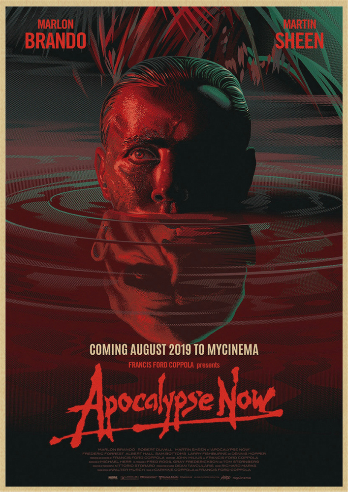 Apocalypse Now     Poster Greatest Movies Classic /& Vintage Films