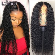 Wig Curly Deep-Part-Wigs Human-Hair Natural-Hairline Transparent Pre-Plucked Hd Lace