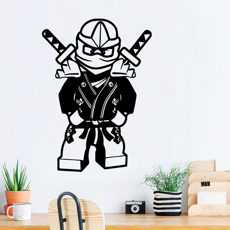 Full Colour 3D Harry Potter Lego Smashed Wall Art Sticker Decal Mural Transfer 2