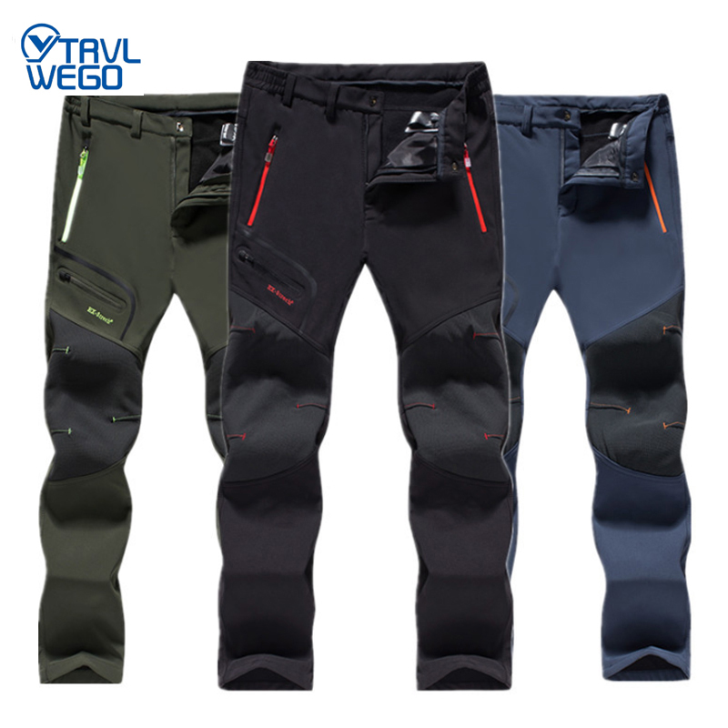 THE ARCTIC LIGHT Pants Hiking For Men Size L- 6XL Warm Winter High Quality Camping Nature Hike Male waterproof Ski trousers