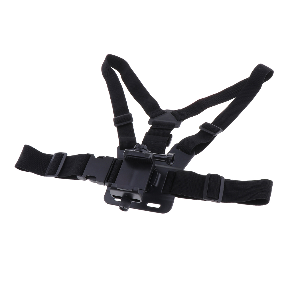 Adjustable Phone Clip Holder Mobile Phone Chest Mount Harness Strap Holder for iPhone for Xiaomi for Huawei for Samsung