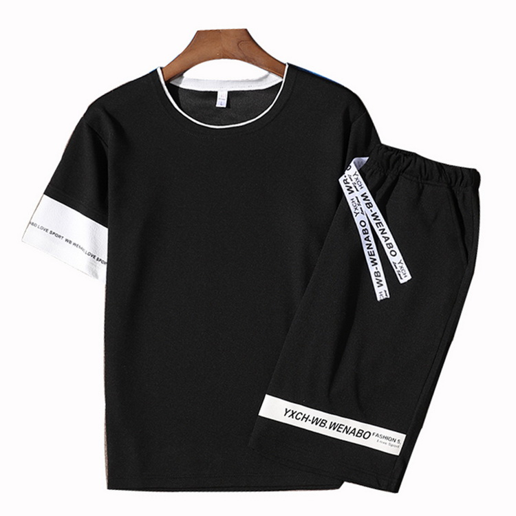 jogging homme t shirt women tracksuit men 6